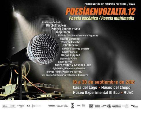 POesía en Voz alta2012